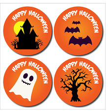 Halloween Stickers Trick or treat reward for kids 144 Pack Spooky Gift