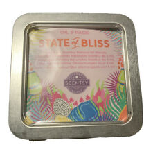 SCENTSY State Of Bliss Essential Oil 3 Pack Summer 2020 Collection NEW
