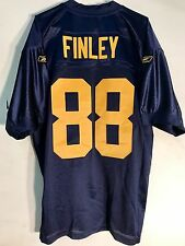 Reebok Authentic NFL Jersey Packers Jermichael Finley Navy Throwback sz 46