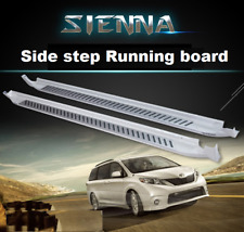 Fits for Toyota Sienna 2011-2020 White Running Boards Side Step Nerf Bar