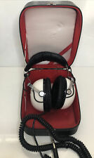 More details for vintage pioneer se-50 8ohm stereo headphones boxed white