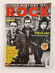 History of Rock 1977 Magazine THE CLASH, LED ZEPPELIN, MUDDY WATERS (Sept 2016)