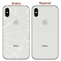 iPhone Back Glass/Screen Replacement/Housing/Chassis/Camera Lens Repair Service