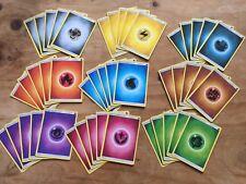 45x Pokemon Energy Cards Bundle - SUN & MOON - 5x Each Energy Type - Cheap Deal