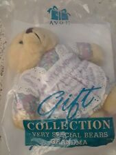 Avon Gift Collection Grandmom Teddy Bear Very Special Bears Stuffed Plush 1996