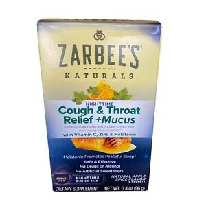 Zarbees Cough Mucus Relief Natural
