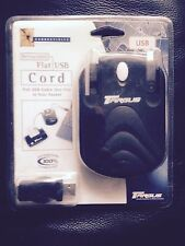 Targus Retractable Flat USB Cord PA220E 2 Metres Brand New