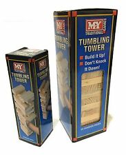 Wooden Stacking Tumbling Tower Jenga Board Game Traditional Family Game For All