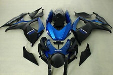 Fairing Kits fit for Suzuki gsxr600/750 06-07 2006 2006 Blue and black color ABS