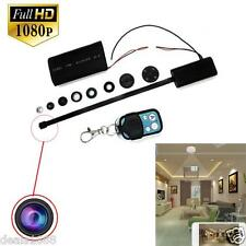 Full HD 1080P DIY Module SPY Camera Video Mini DV DVR Motion w/ Remote Control