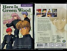 Here Is Green Wood - Complete Series - Brand New 2 Disc Anime Set