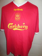 Liverpool 2001-2002 European Football Shirt Size Extra Large XL