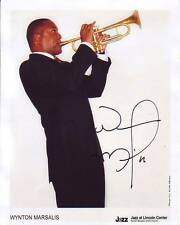 WYNTON MARSALIS Signed Photo w/ Hologram COA