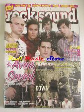 rivista ROCK SOUND 114/2007 + CD Down + POSTER As I Lay Dying/Atreyu Beatsteaks