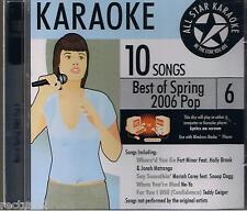 Karaoke Best of Spring 2006 Po Import