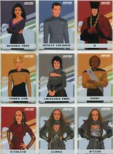 Star Trek TNG Portfolio Prints Series 1 Complete 9 Card Chase Set TNG Gallery