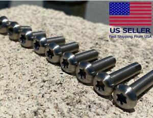 M5 Titanium Button Head Torx T25 Bolt Fastener (8,10,12,15,16,18,20,25,30 mm)