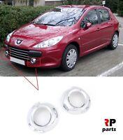 Pour Peugeot 307 2005 - 2007 Neuf Pare Choc Avant Brouillard Contour Phare