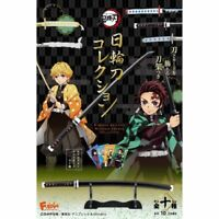 F-Toys Demon Slayer Kimetsu no Yaiba Nichirin Blade Sword Collection 10 pc USA