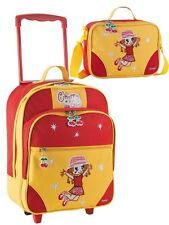 Kinder-Trolley-Reise-Set 2 tlg. Cherry-Girl Mädchen