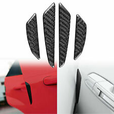 JDM Real Carbon Fiber Car Side Door Edge Protection Guards Protect Decal Sticker