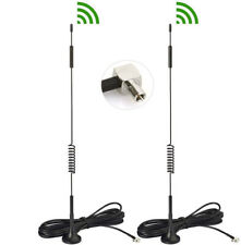 Eightwood 2pcs 4G LTE Omni TS9 Antenna Magnetic 7dBi Antenna For AirCard AC791L