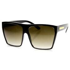 Gafas de sol de mujer negro cuadrados, con 100% UVA & UVB
