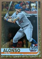 Pete Alonso - Mets RARE #/2019 GOLD ROOKIE CARD 🔥💎 2019 Topps Update RC - MINT