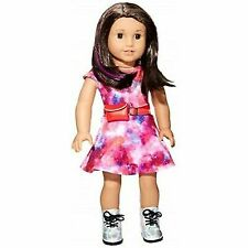 """American Girl Doll 2018 Luciana Vega With Accessories 18"""""""
