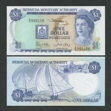 BERMUDA - QEII $1 1986 P28c  Uncirculated  ( Banknotes )