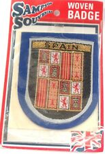 WOVEN BADGE - SPAIN -SEW ON