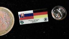 DFB Fussball Pin Badge Matchday Nationalmannschaft Deutschland Slowakei 2006 Log