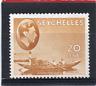 Seychelles GV1 1938-49 20c brown-ochre (chalk). sg 140a HH.Mint