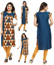 Party Evening Indian Pakistani Designer Cotton Kurta Kurti Dress Women SC2466