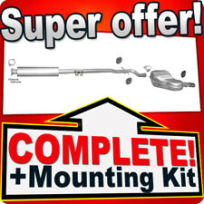 Volvo S60 2.4 T5 2.5 T 2004-2010 Silencer Exhaust System M22