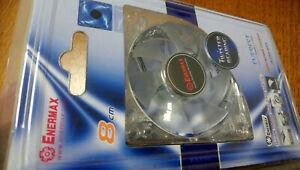 ENERMAX Everest Silence UCEV8 80mm Twister Bearing Blue LEDs Cooling ventilateur