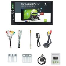 2 Din Android 8.1 Car Stereo 7 Inch GPS Navi MP5 Player Double WiFi Quad Co W4W8