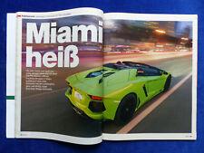 Lamborghini Aventador LP 700-4 - Fahrbericht - Auto Motor Sport Heft 8/2013