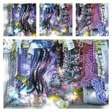 New 39 strands of purples beads lot Blue moon bead gallery ect..