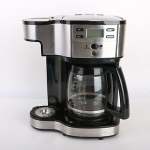 Hamilton Beach 2-Way Brewer 49980 Single Serve Coffee Maker and Full 12 Cup Pot