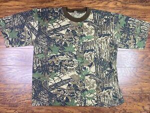 Vintage Ace Sportswear Realtree Camo T Shirt 2X A1