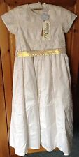 IVORY BRIDESMAID DRESS 11yrs/146cms - NEW WITH TAGS
