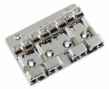 NEW Gotoh Quick Release 4 String Bass Bridge J510SJ-4 - CHROME - Made in Japan