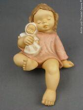 GOEBEL NINA & MARCO schöne alte Figur Kantenhocker 25 cm