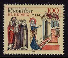 GERMANIA OVEST MNH STAMP SET Deutsche Bundespost St. jadwiga Slesia 1993 SG 2547