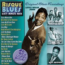 RISQUE BLUES - SIXTY MINUTE MAN / CD - TOP-ZUSTAND