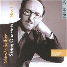 Matyas Seiber: String Quartets 1-3, New Music