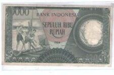 Indonesia 10000rp  VF-EF 1964  Replacement Banknote Rupiah