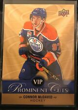 Connor McDavid 2017 Upper Deck NSCC National Exclusive VIP Prominent Cuts #VIP-2