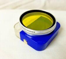 Voigtlander G2 49S AR 302/49 Filter with Case